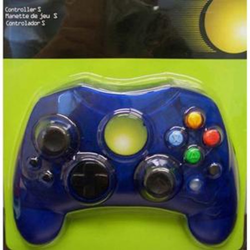 XBox Controller S Clear Blue