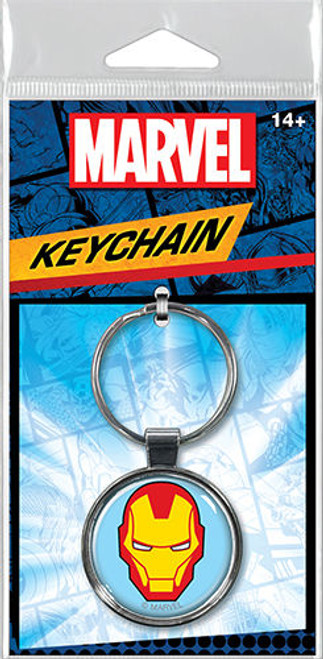 Iron Man Head Keychain