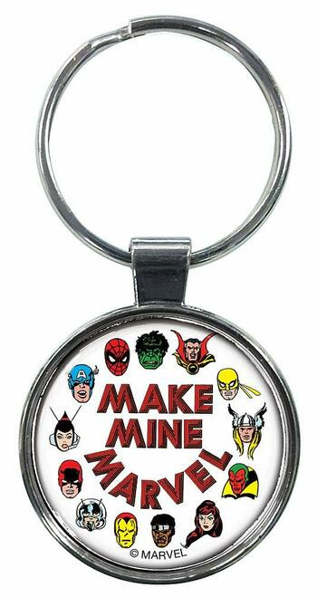 Make Mine Marvel Keychain