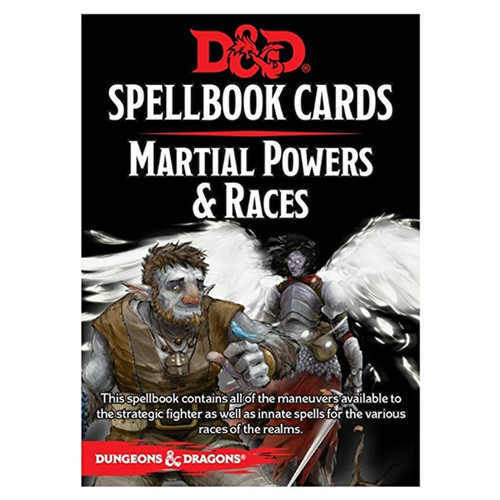Dungeons and Dragons Martial Races and Powers Spell Cards