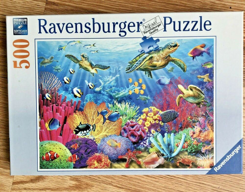 Tropical Waters 500 Piece Puzzle