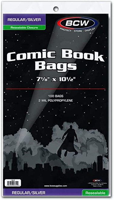 Comic Bags - Silver/Regular