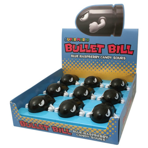 Bullet Bill Blue Raspberry Sours