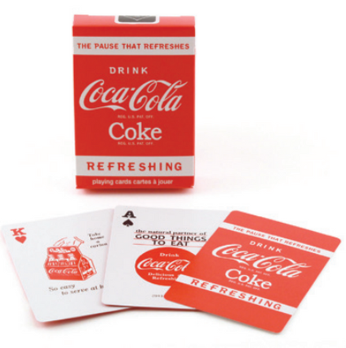Bicycle Coke Playing Cards