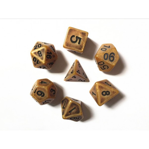 Gold Ancient Dice