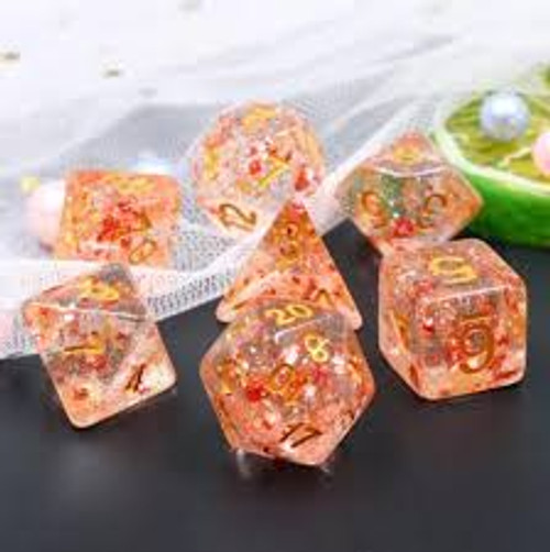 Red Flakes 7 ct Set