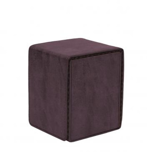 Suede Collection Alcove Flip Amethyst Deck Box