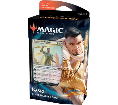 Core Set 2021 Planeswalker Deck - Basri, Devoted Paladin