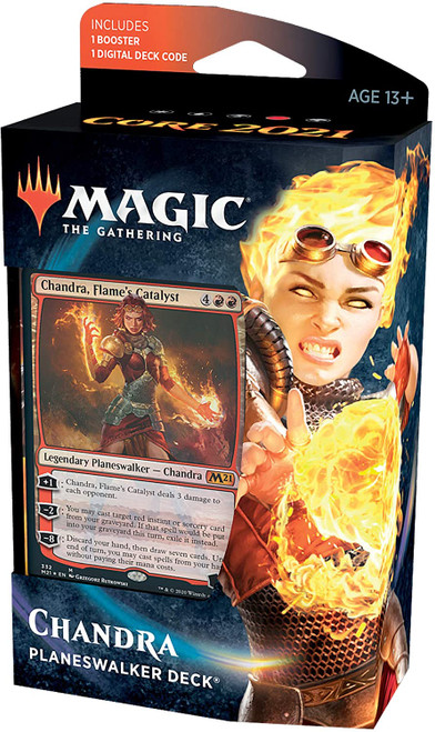 Core Set 2021 Planeswalker Deck - Chandra, Flame's Catalyst