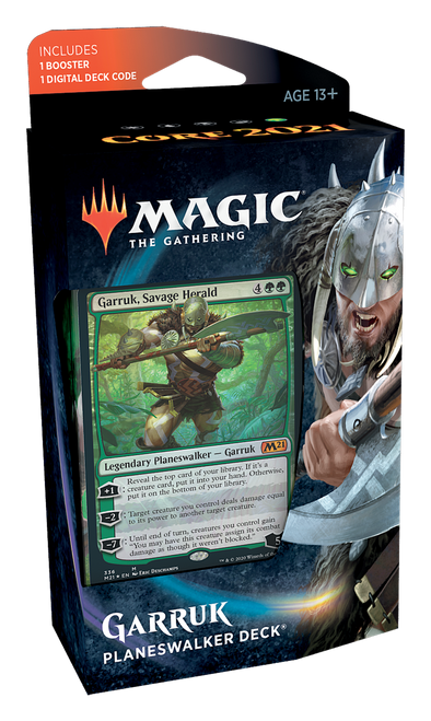 Core Set 2021 Planeswalker Deck - Garruk, Savage Herald