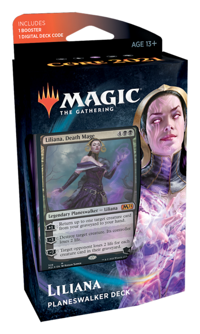 Core Set 2021 Planeswalker Deck - Liliana, Death Mage