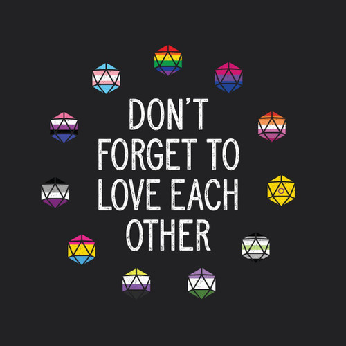 Don't Forget to Love Each Other shirt