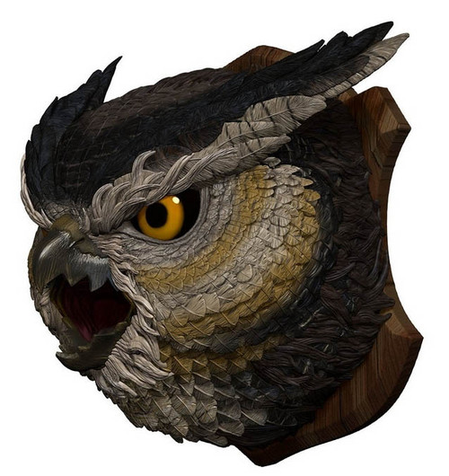 Owlbear Trophy Plaque