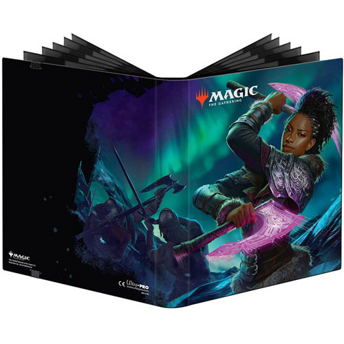 PRO 9-Pocket MTG - Kaldheim- Booster Box Art