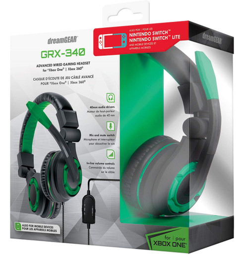 DreamGear GRX-340 Headset (XB)