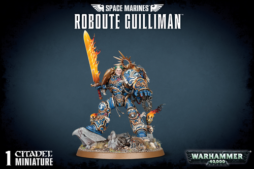 Space Marines Roboute Gulliman