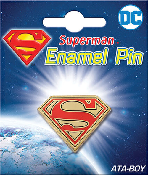 Pin - DC Superman Logo