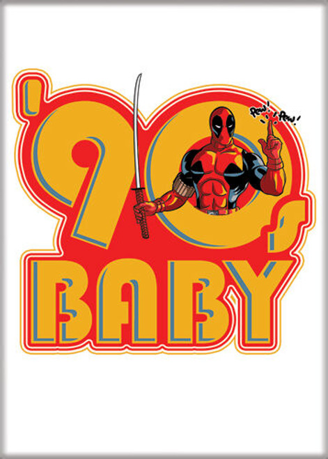 Magnet - Deadpool 30th 90s Baby