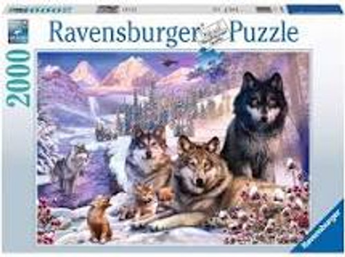 Winter Wolves 2000 piece