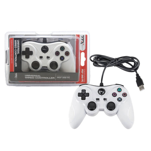 PS3 Controller Wired White