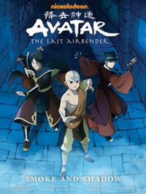 AVATAR LAST AIRBENDER SMOKE AND SHADOW LIBRARY ED HC (C: 1-0