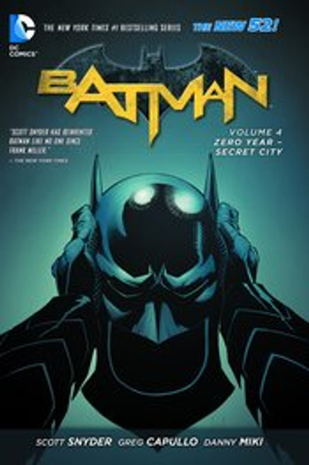 "Batman Zero Year ""Secret City"""