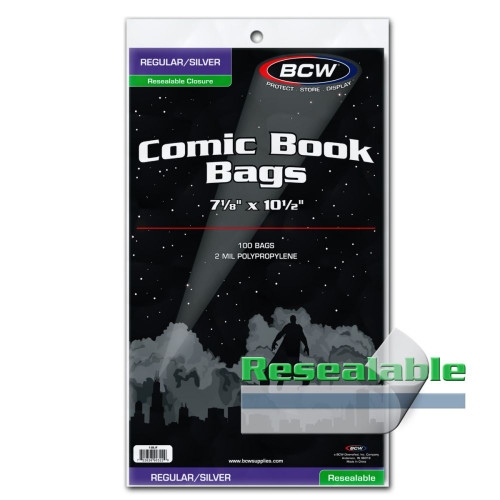 Silver Age Resealable Comic Bags
