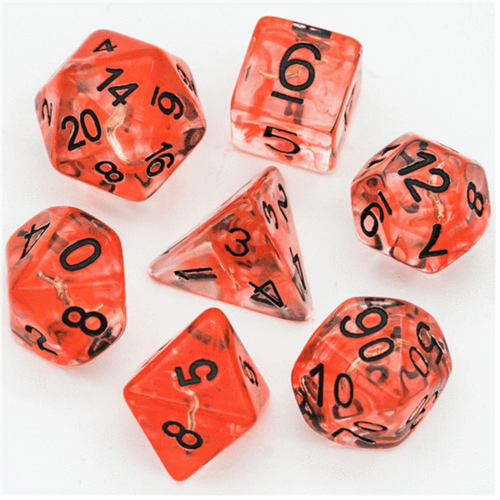 Rogue's Dagger Class RPG Dice Set