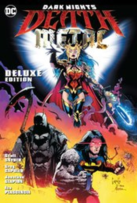 DARK NIGHTS DEATH METAL DLX HC