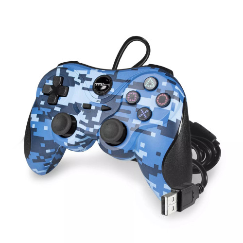 PS3 Controller Wired Digicamo Blue
