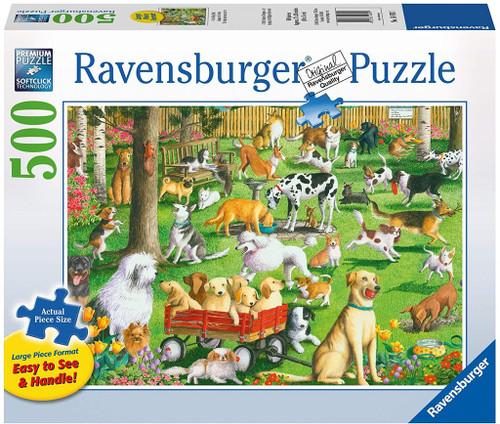 At the Dog Park 500 pc