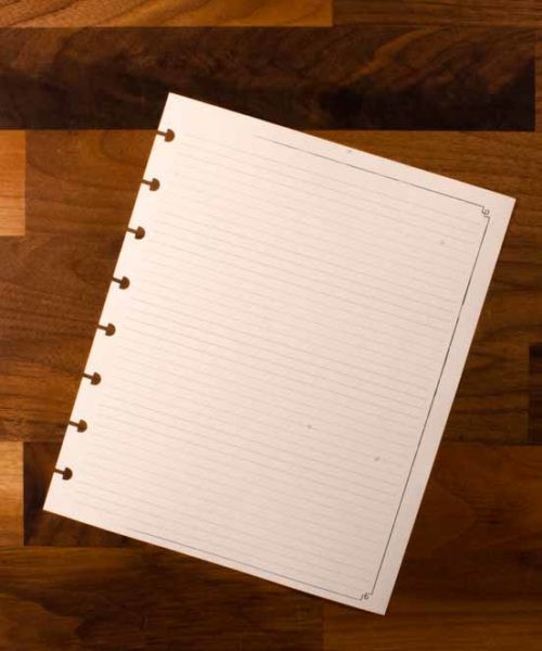 Note Pack - Planner