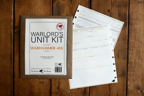 Warlord's Unit Kit for Warhammer 40,000