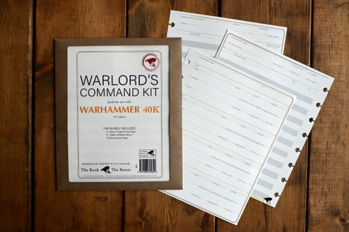 Warlord's Command Kit for 40k