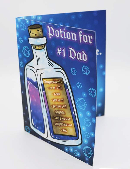 Fathers Day Card - Potion