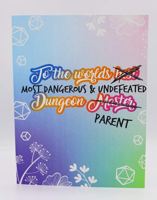 Parents Day Card - Dungeon