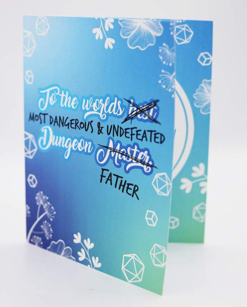 Fathers Day Card - Dungeon