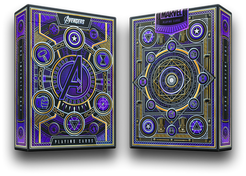 Avenger's Playing Cards