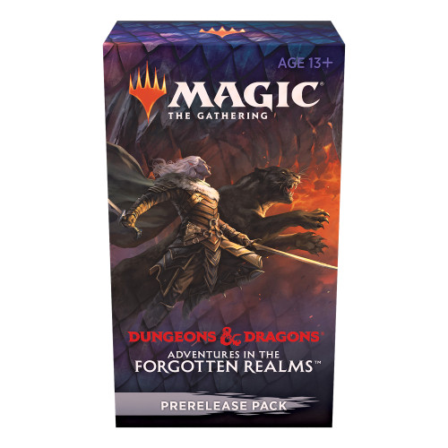 Adventures in the Forgotten Realms Prerelease Pack | 6 Draft Boosters (90 Magic Cards) + Accessories