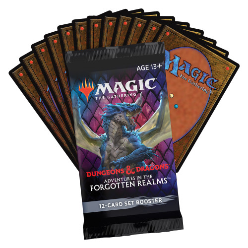 Adventures in the Forgotten Realms Set Booster