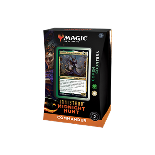 Innistrad Midnight Hunt Coven Counters Commander Deck