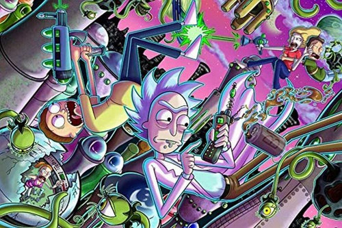 Rick & Morty - Cell Phone