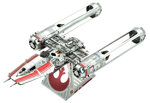 Zorii's Y-Wing Fighter - Color