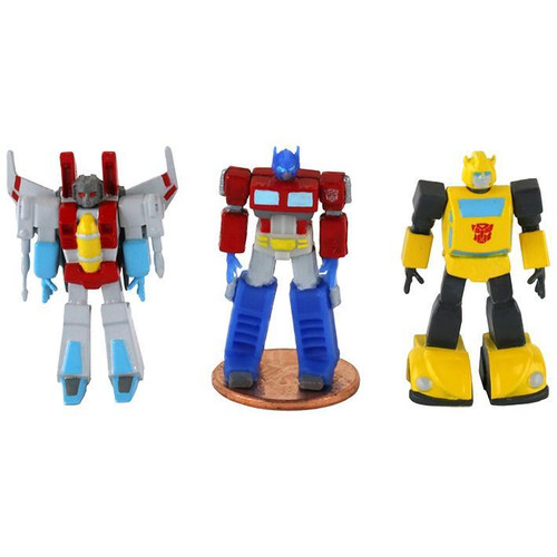 World's Smallest Micro Action Figures Transformers