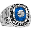 Mens 10K Gold All American Athletic Class Ring