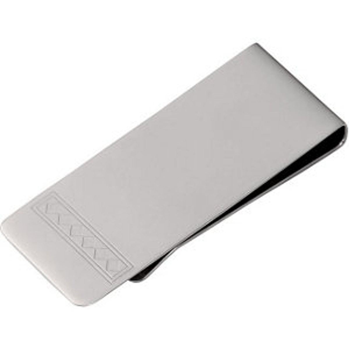 Stainless Steel Money Clip with Diamond Engraving