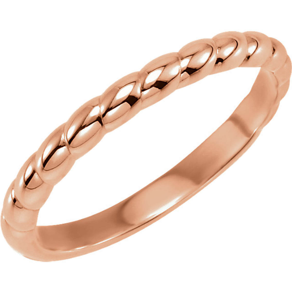 14kt Rose Stackable Ring