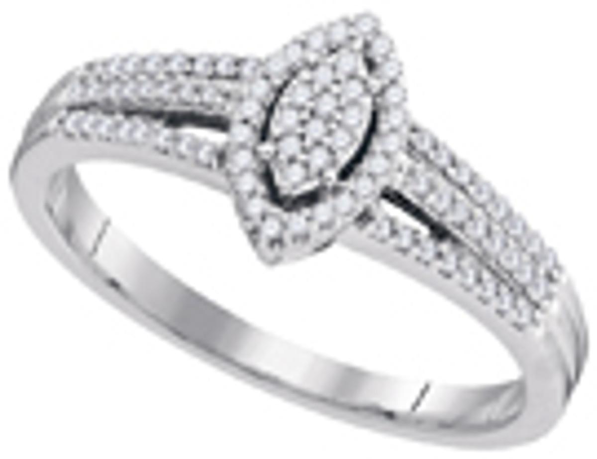 0.20CTW DIAMOND MICRO-PAVE RING