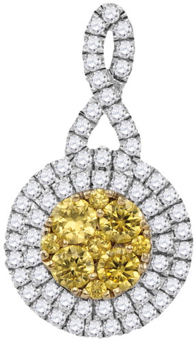 1.02CTW PINK DIAMOND FASHION RING