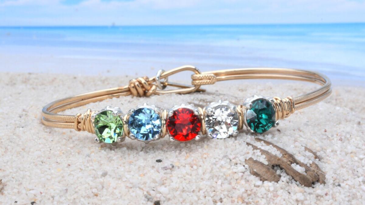 Earth Grace Mother's Custom Bracelet